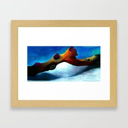 Branch Framed Art Print