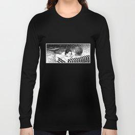 asc 793 - Le rivage de velour (Dive in a velvet slide) Long Sleeve T-shirt