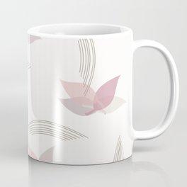 Vintage Minimalist Floral Art Coffee Mug