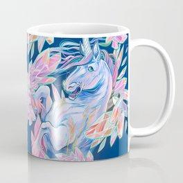 Crystal Snake Rainbow Unicorn Coffee Mug