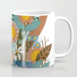 Houses and Flowers Coffee Mug
