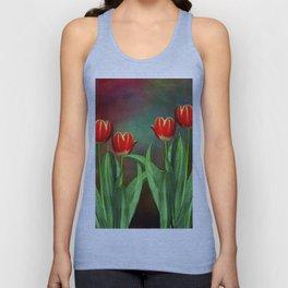 Tulips m Unisex Tank Top