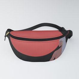 Bloody moon Fanny Pack