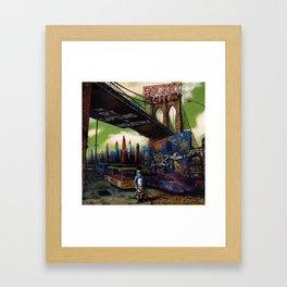 Rocket City cover art Framed Art Print