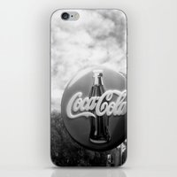 coca cola iPhone & iPod Skins featuring Coca Cola  by Chris' Landscape Images & Designs