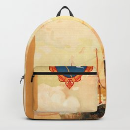 Anchor Line Glasgow to New York Backpack