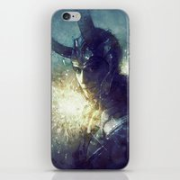 king iPhone & iPod Skins featuring King by Anna Dittmann