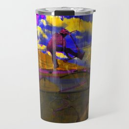 Stuntman - Stunt Scooter Sports Art Travel Mug