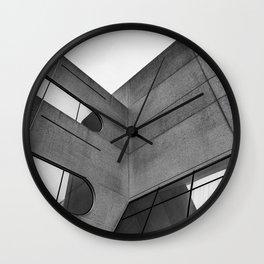 Modern Architecture v.2 Wall Clock