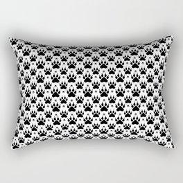 Animal Footprint Rectangular Pillow