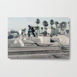 Miami Beach Skatepark Skateboarding poster Skateboarding print photography print Metal Print