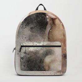 Venus in watercolor Backpack