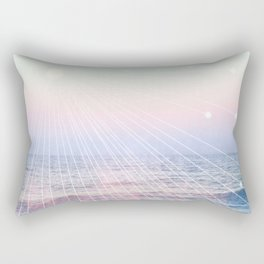 Elementalists under the Sunset Rectangular Pillow