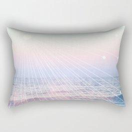 Elementalists under the Sunset Rectangular Pillow
