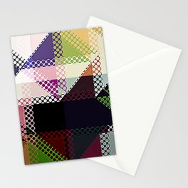 Pattern Multi Color Abstract Stationery Cards