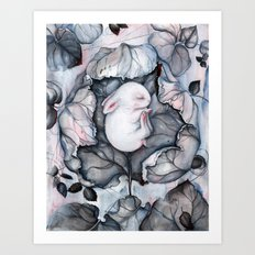 Wintersleep Art Print