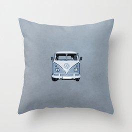 Bulli II. Throw Pillow
