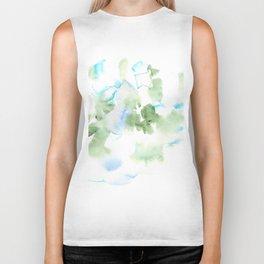 180515 Watercolour Abstract  Wp 17| Watercolor Brush Strokes Biker Tank