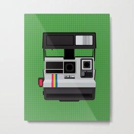 Polaroid Supercolor 635CL Metal Print