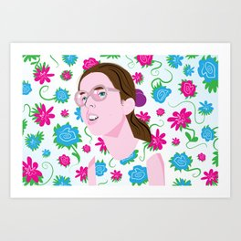 Dawn Weiner, Welcome to the Dollhouse Art Print