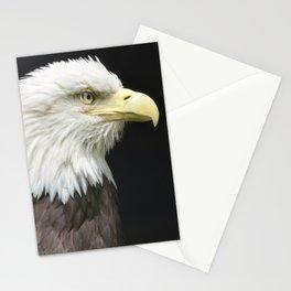 Bald Eagle Profile Stationery Cards
