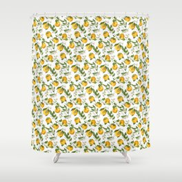 Blossom of Orange Tree Shower Curtain