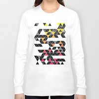 gradient Long Sleeve T-shirts featuring Gradient Space by Jorge Lopez