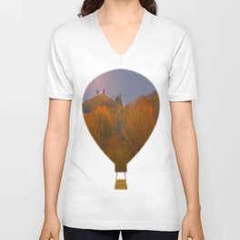 Autumn Light Unisex V-Neck