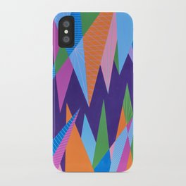 Crystal Stalagmites iPhone Case