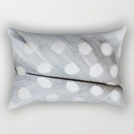 Polka Dot Feather Rectangular Pillow