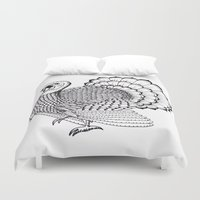 turkey Duvet Covers featuring Turkey by Martin Stolpe Margenberg