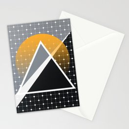 London - Abstract Sunset Stationery Cards