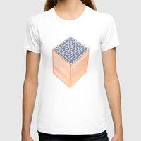 labyrinth T-shirts featuring labyrinth by Juan Paz
