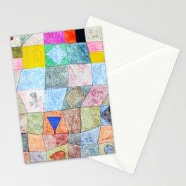 """Paul Klee,"""" freundliches Spiel anagoria """" Stationery Cards"""
