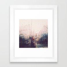 DC Rain Framed Art Print