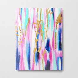 Camille Abstract Metal Print