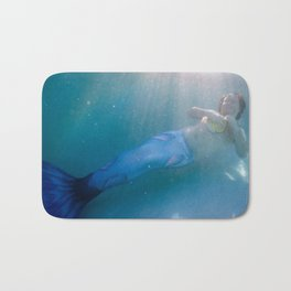 At Peace With The Undersea World Bath Mat