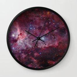 Carina Nebula of the Milky Way Galaxy Wall Clock