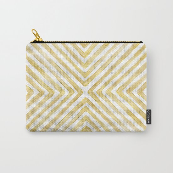 Gilded Bars Carry-All Pouch