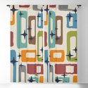 Retro Mid Century Modern Abstract Pattern 224 by tonymagner