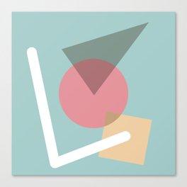 Imperfect Geometries #3 Canvas Print