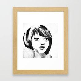 Portrait 115 Framed Art Print
