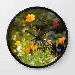 Moody Meadow Wall Clock