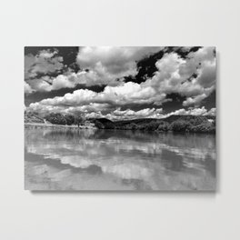 River Sky Metal Print