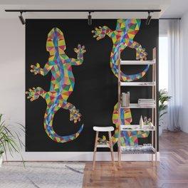 Vivid Barcelona City Lizard Wall Mural