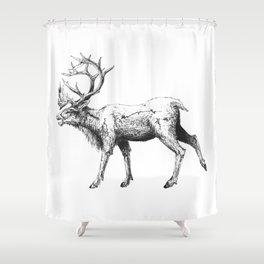 Caribou Shower Curtain