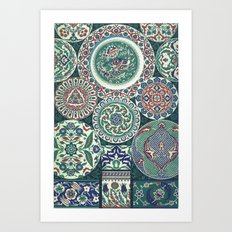 Japanese Pattern-1 Art Print