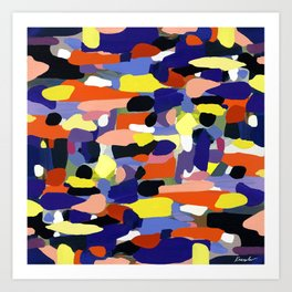 Luscious 413 Art Print