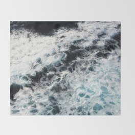 Ocean Painting Throw Blanket