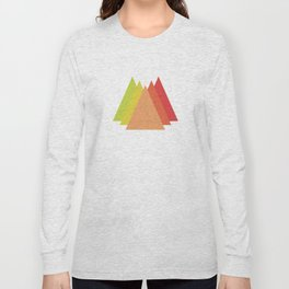 Simple Mountains Long Sleeve T-shirt